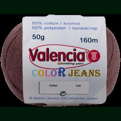 Пряжа с хлопком Valencia Color Jeans 722