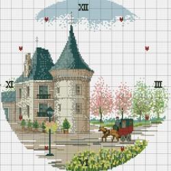 Схема вышивки бисером иконы СБИ-011
