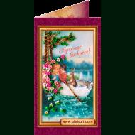 Набор-открытка вышивка бисером АО-010