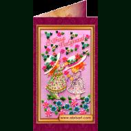 Набор-открытка вышивка бисером АО-016