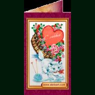 Набор-открытка вышивка бисером АО-019