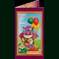 Набор-открытка вышивка бисером АО-024