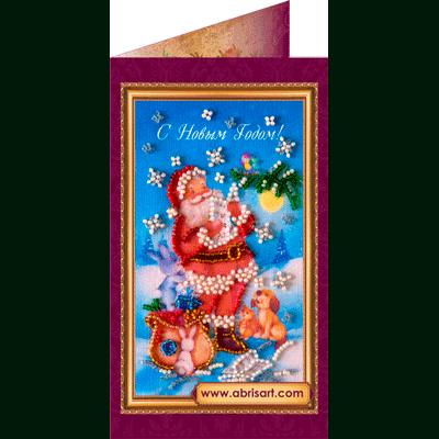 Вышивка бисером открыток