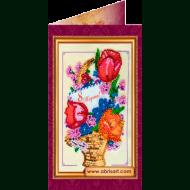 Набор-открытка вышивка бисером АО-046