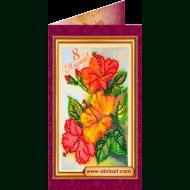 Набор-открытка вышивка бисером АО-050