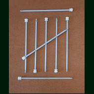 Крючок для шерсти тефлоновый Турция № 4.50