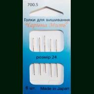 Иглы для вышивания мулине № 24