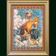 Вышивка крестом № 498 кировское мулине