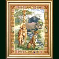 Вышивка крестом № 522 кировское мулине