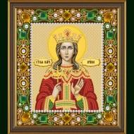 Вышиваем икону бисером и камнями Д-6155