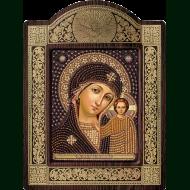 Икона с чешским бисером Preciosa СН-8002