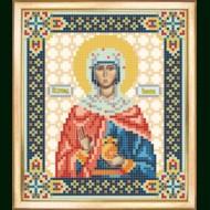 Схема вышивки бисером иконы СБИ-082