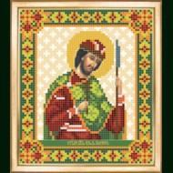 Схема вышивки бисером иконы СБИ-087