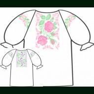 Сорочка для девочки под вышивку крестом