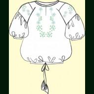 Набор для вышивки лентами женской сорочки