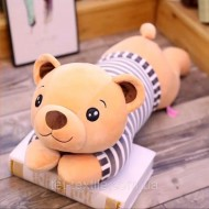 Медвежонок в тельняшке. Плед, игрушка, подушка