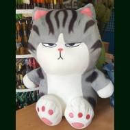 Котик полосатый. Плед, игрушка, подушка