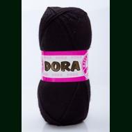 Пряжа из Турции 100% акрил Dora 999 (Black)