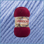 Пряжа шерсть с шелком Valencia Australia 317