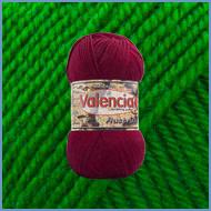 Пряжа шерсть с шелком Valencia Australia 406