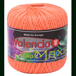 Пряжа 100% хлопок для вязания Euro Maxi 001