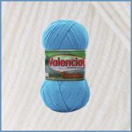 Пряжа шерстяная с вискозой Valencia Flamingo 002