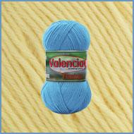 Пряжа шерстяная с вискозой Valencia Flamingo 104