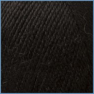 Шерсть ламы с акрилом Gaudi 620 (Black)