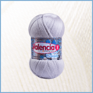 Шерсть ламы с акрилом Valencia Gaudi 0601 (White)