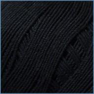Пряжа из египетского хлопка Valencia Oscar 002 (Black)