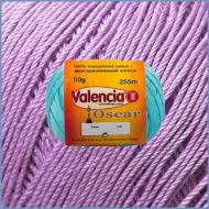 Пряжа из мерсеризованного хлопка Valencia Oscar 551