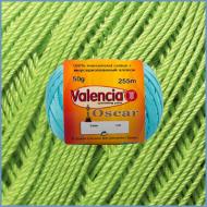 Пряжа из мерсеризованного хлопка Valencia Oscar 751